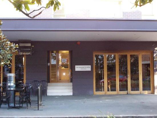 The Maisonette: Reception entrance