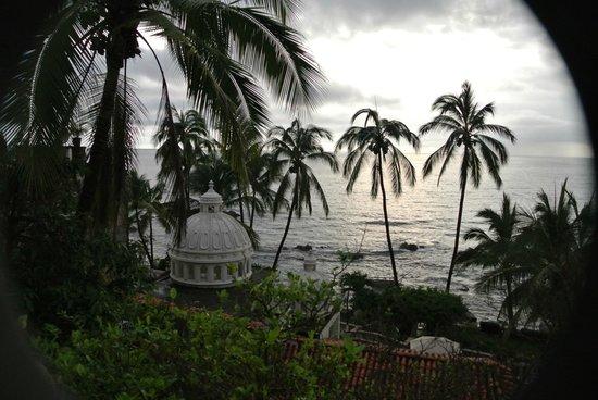 Playa Conchas Chinas Hotel: Vista desde la ventana