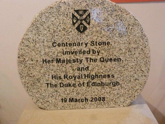 Queen's University: commemorative stone