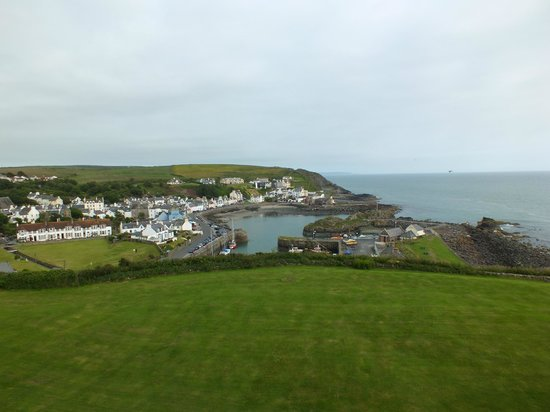 The Portpatrick Hotel: View from my window