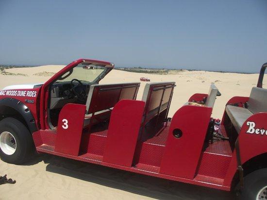 Mears, MI: Dune car