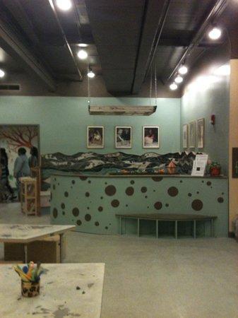 Portland Children's Museum: The amazing Clay Studio