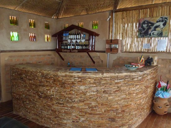 Bakiga Lodge open air bar