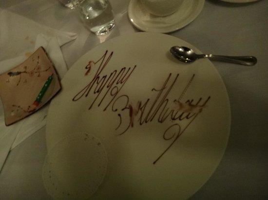 Friends Restaurant: The final dish...amazing!