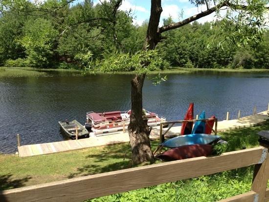 Loon Ridge: the dock