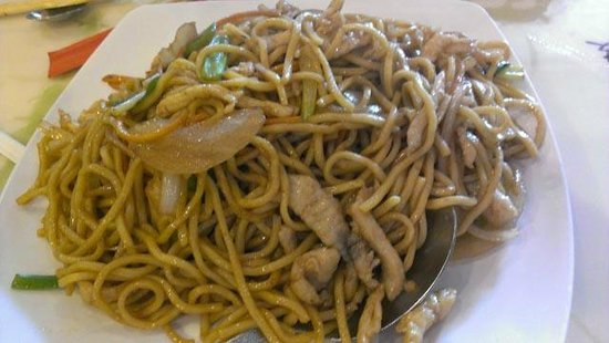 Peter Chang's China Cafe: Chicken Lo Mein