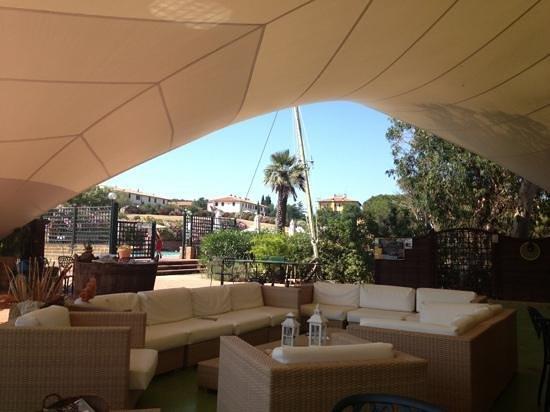 Tenuta delle Ripalte: restaurant bij zwembad