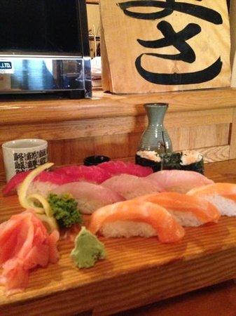 Sushi Masa: excellent presentation, taste and temp. Masa Shushi