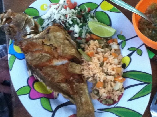 Pescaderia San Carlos: whole grouper