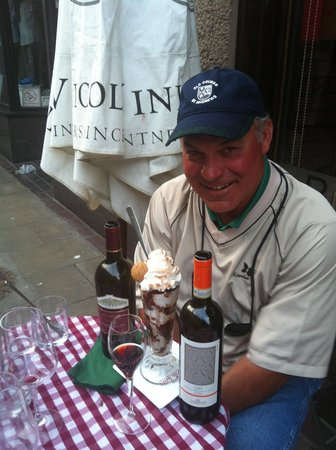 Little Italy: Enjoying Wine and Dessert
