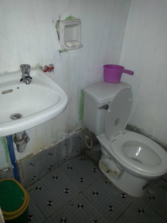 Punto Miguel: Really Gross Bathroom/toilet