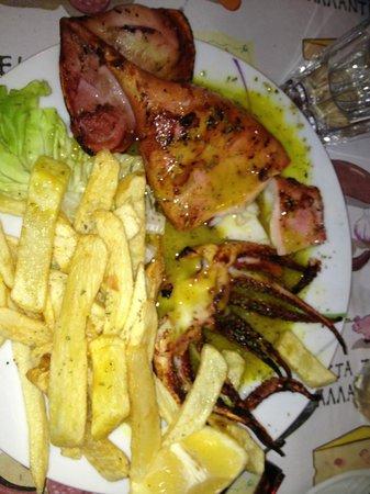 Taverna Tou Psirri : More fish..
