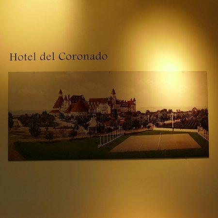 Coronado Visitor Center : Sepia snapshot hotel