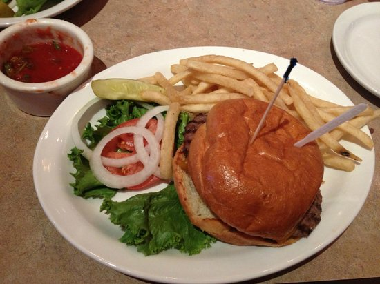 The Grubsteak Restaurant : Beefalo burger