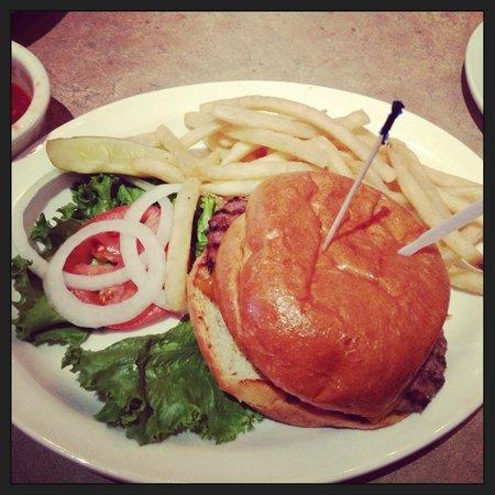 The Grubsteak Restaurant : Elk Burger