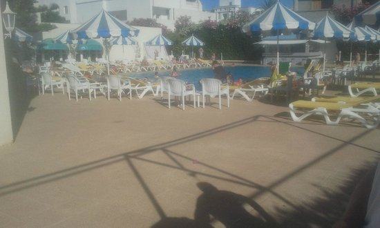 Palmyra Beach: piscine
