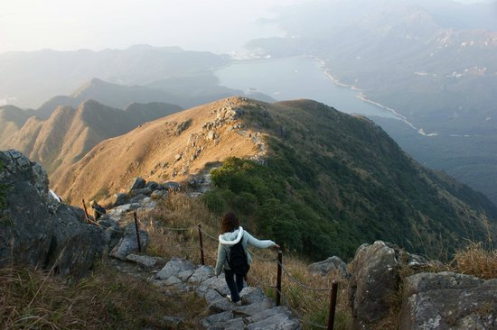 YHA Ngong Ping SG Davis Youth Hostel : The 934-metre Lantau Peak, offering sublime sunrise view, is the destination for hikers.