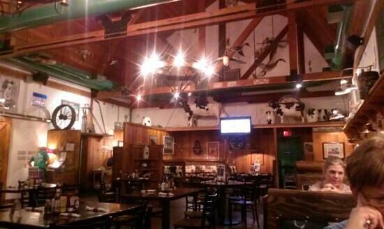 Big Dog's Draft House: Main barn, where restaurant is located.