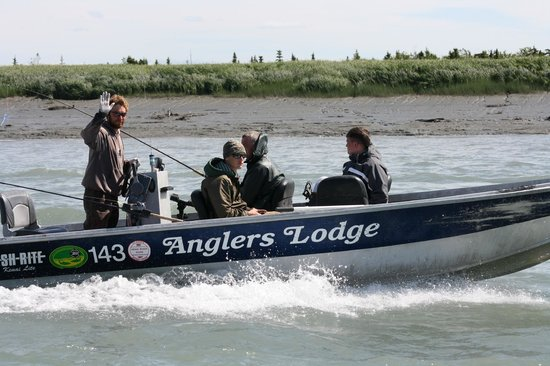 River Fishing - Picture of Anglers Lodge, Sterling - TripAdvisor