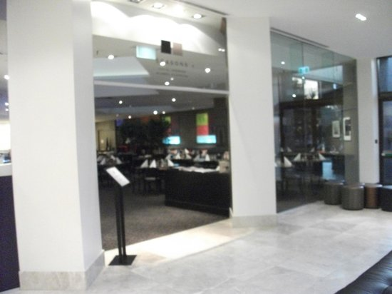 Mercure Sydney International Airport: Breakfast room