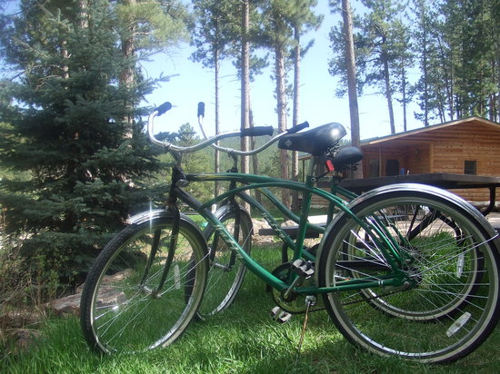 Pine Rest Cabins: Bike the Mickelson Trail