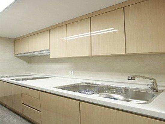 Hotel Gaden Biz: communal kitchen