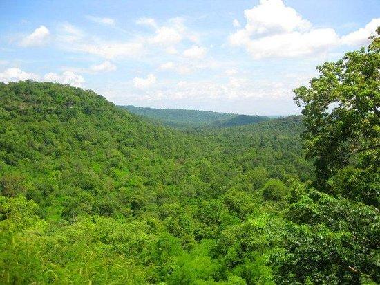 Amnat Charoen Province, Thailand: View from Chanuman's Phu Kham Duai Park