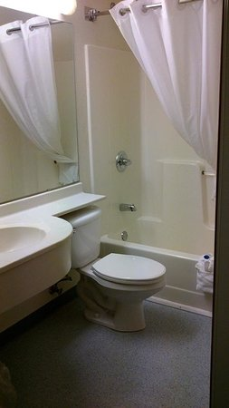 Microtel Inn & Suites by Wyndham Clear Lake: Bathroom by Jets Like Taxis