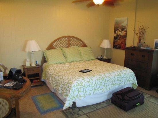 Serendip Vacation Condos: King size bed