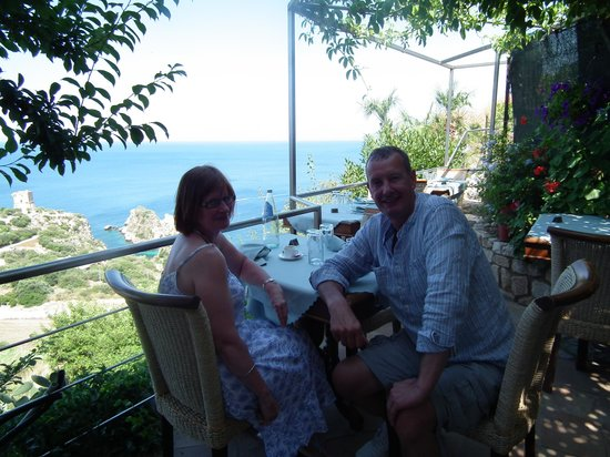 Ristorante Torre Bennistra: Meal finished and very happy