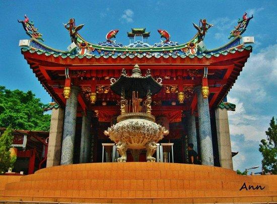 Telang Usan Day Tours: Tua Pek Kong Temple. Oldest Taosit temple in Sarawak.
