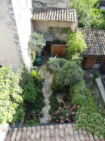 La Maison d'Aurette : vue du balcon