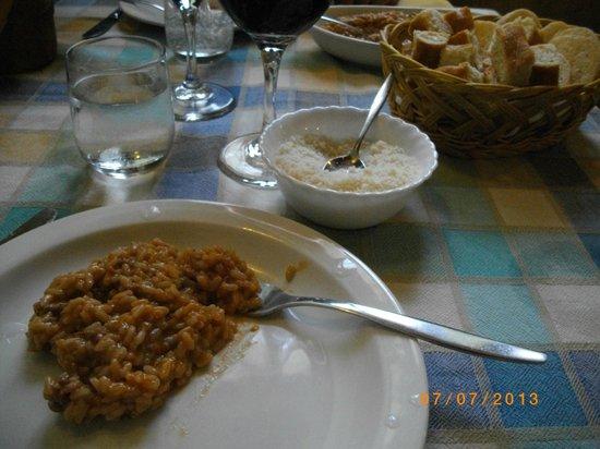 Agriturismo Cascina Conta: Il risotto