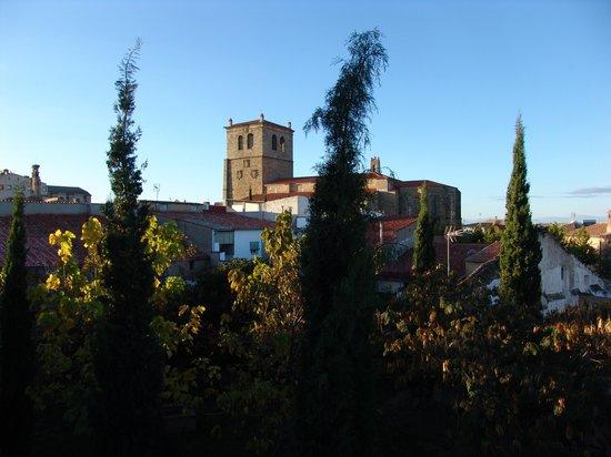 Hospederia Puente de Alconetar: Vistas desde la terraza de la habitación