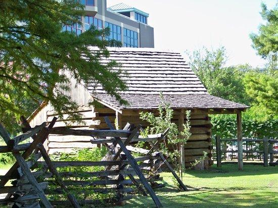Historic Arkansas Museum: cabins