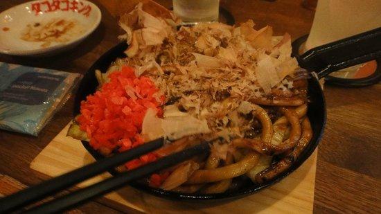 Hearton Hotel Minamisenba: Fried udon