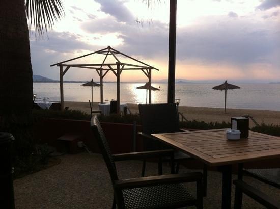 El Parador del Mar Menor : Very nice view, nice place!