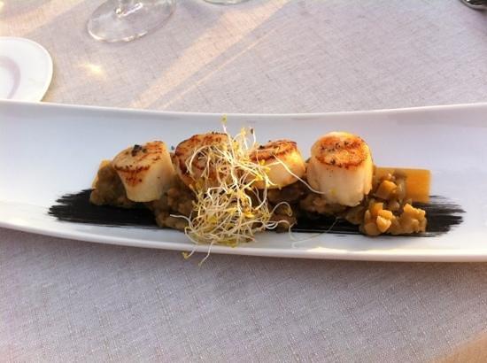 El Parador del Mar Menor : Very good food!