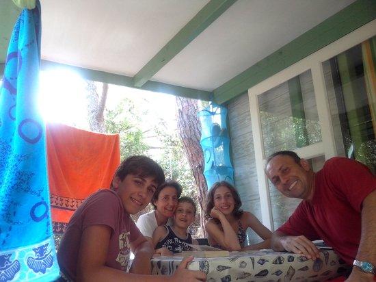 Camping Maremma Sans Souci: Famiglia Tinti Bigazzi