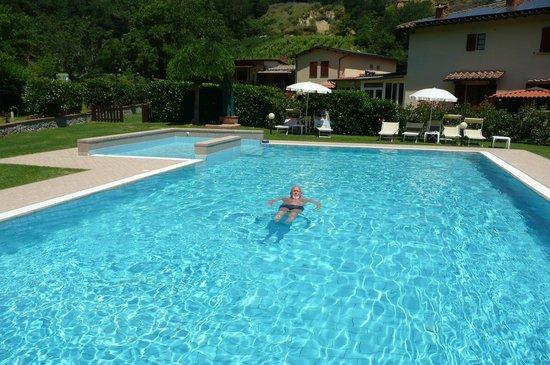 "Agriturismo Valleverde: ""mein pool """