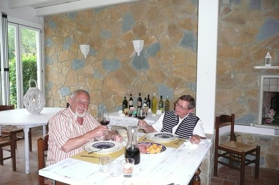 Agriturismo Valleverde: im Restaurant