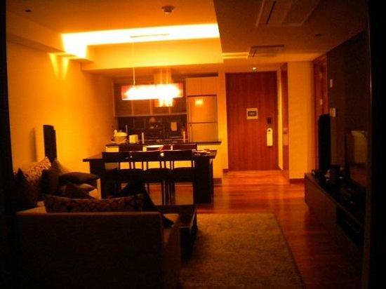 InterContinental Residences Saigon : living room