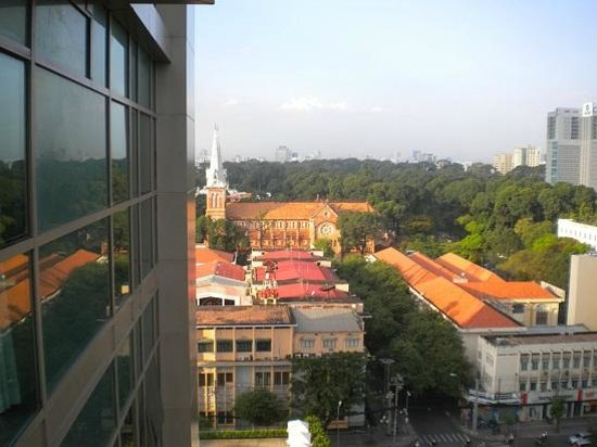 InterContinental Residences Saigon : view from room