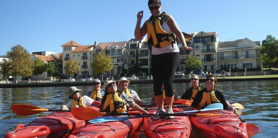 Water Wanderers: East Perth paddling