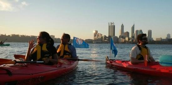 South Perth, Australia: Kayaking on the Swan, Perth WA