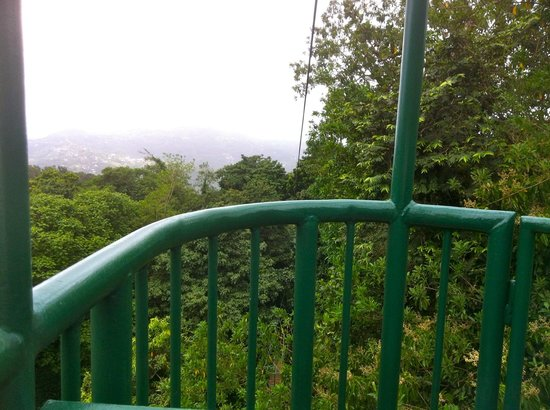 St. Lucia Rain Forest: View from aerial tram