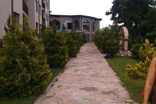 Bor Spa-Club: the terrace