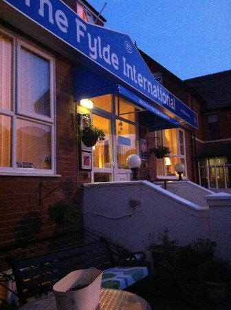 The Fylde International Blackpool: Warm night