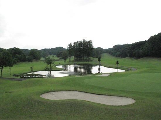 Island Hotel & Resort Nasu : 部屋からゴルフ場が見えます。