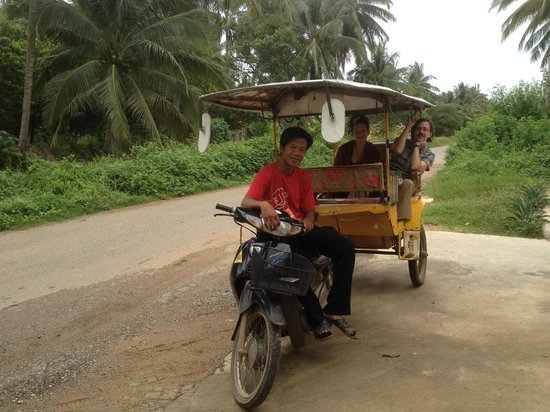 Battambang My Homestay: Nicky - brilliant Battambang guide